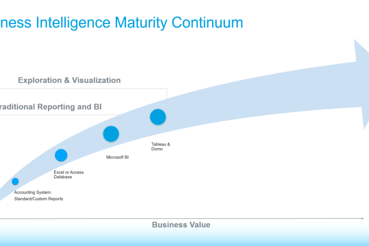 business intelligence maturity continuum